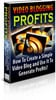 Thumbnail Video blogging for profits salespage.